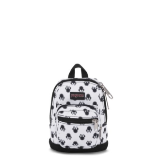 Disney Right Pouch in Minnie White Bow Dot