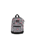 Disney Right Pouch in White Houndstooth